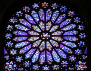 Stained-glass-rose-window